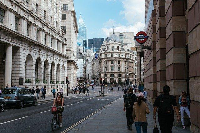londýnská city banka