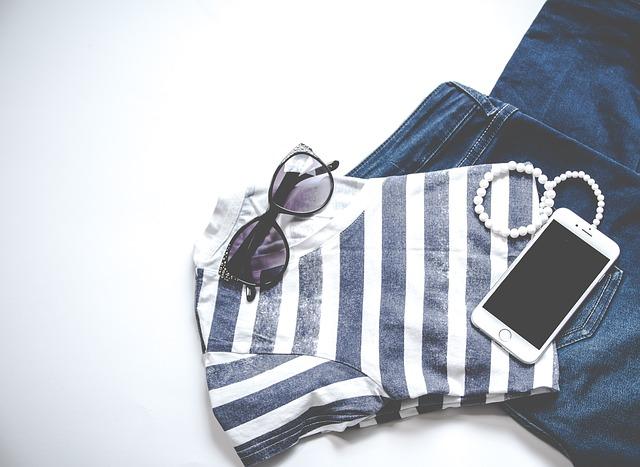 triko a džíny