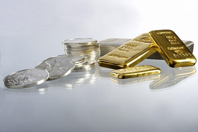 zlato a mince